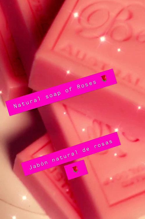 Natural soap of Roses