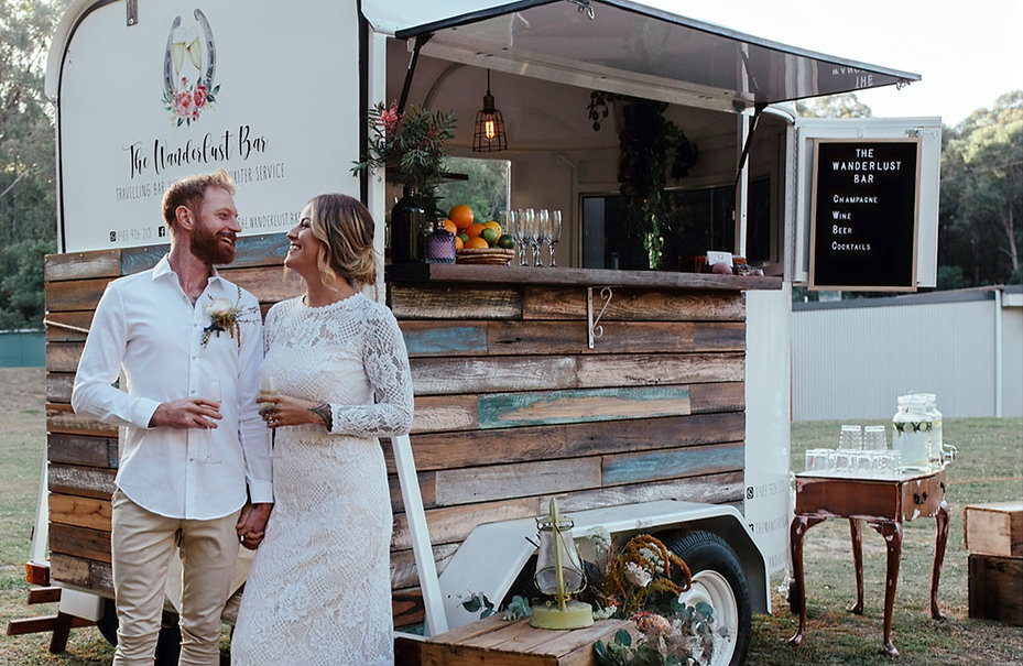 mobile bar hire for wedding