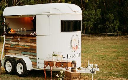 mobile horse float bar melbourne