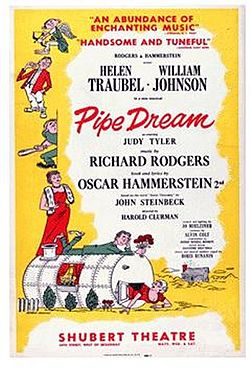 Musical1955-PipeDream-OriginalPoster