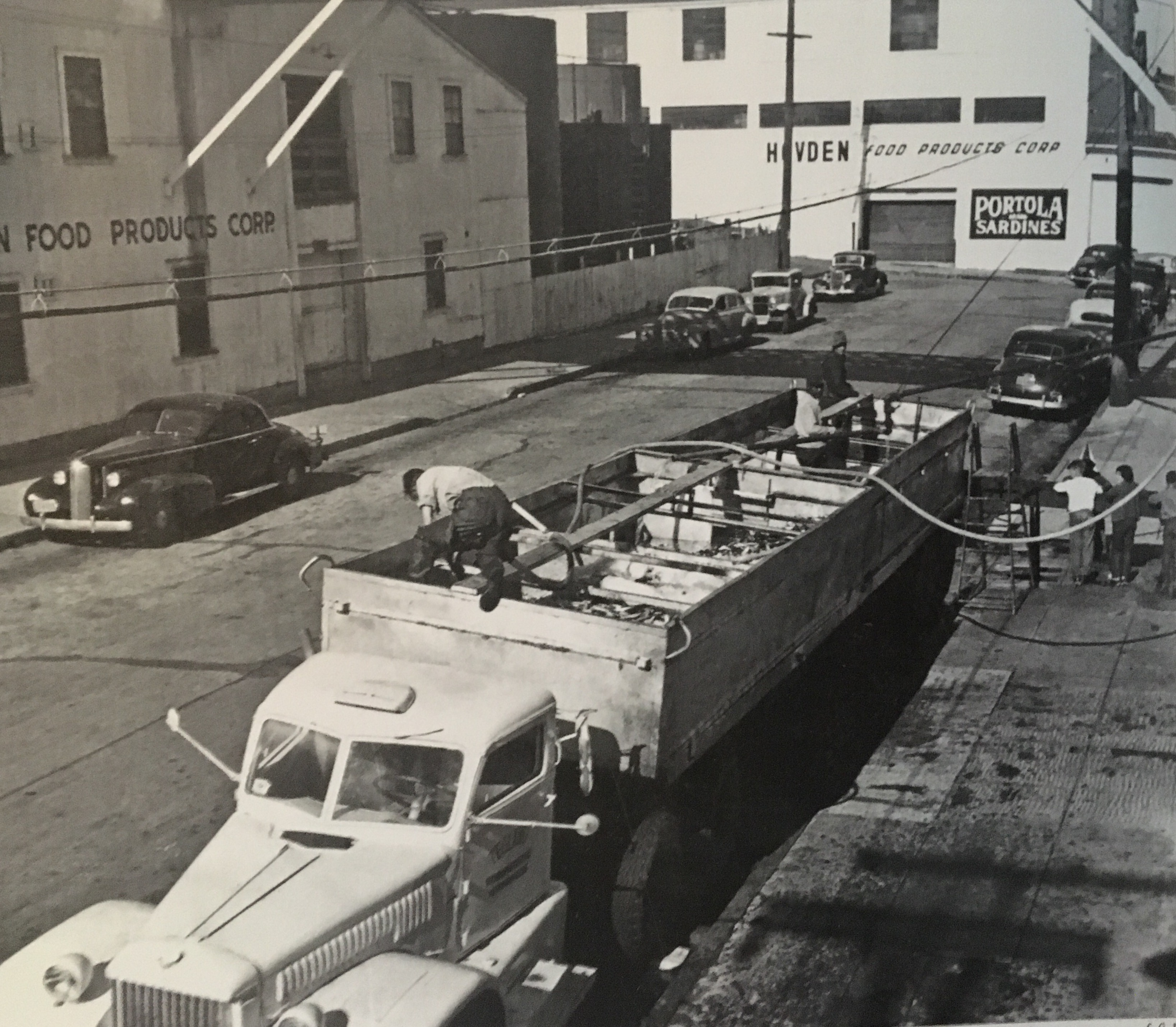 Cannery Row fish truck Photo by Fred Harbick