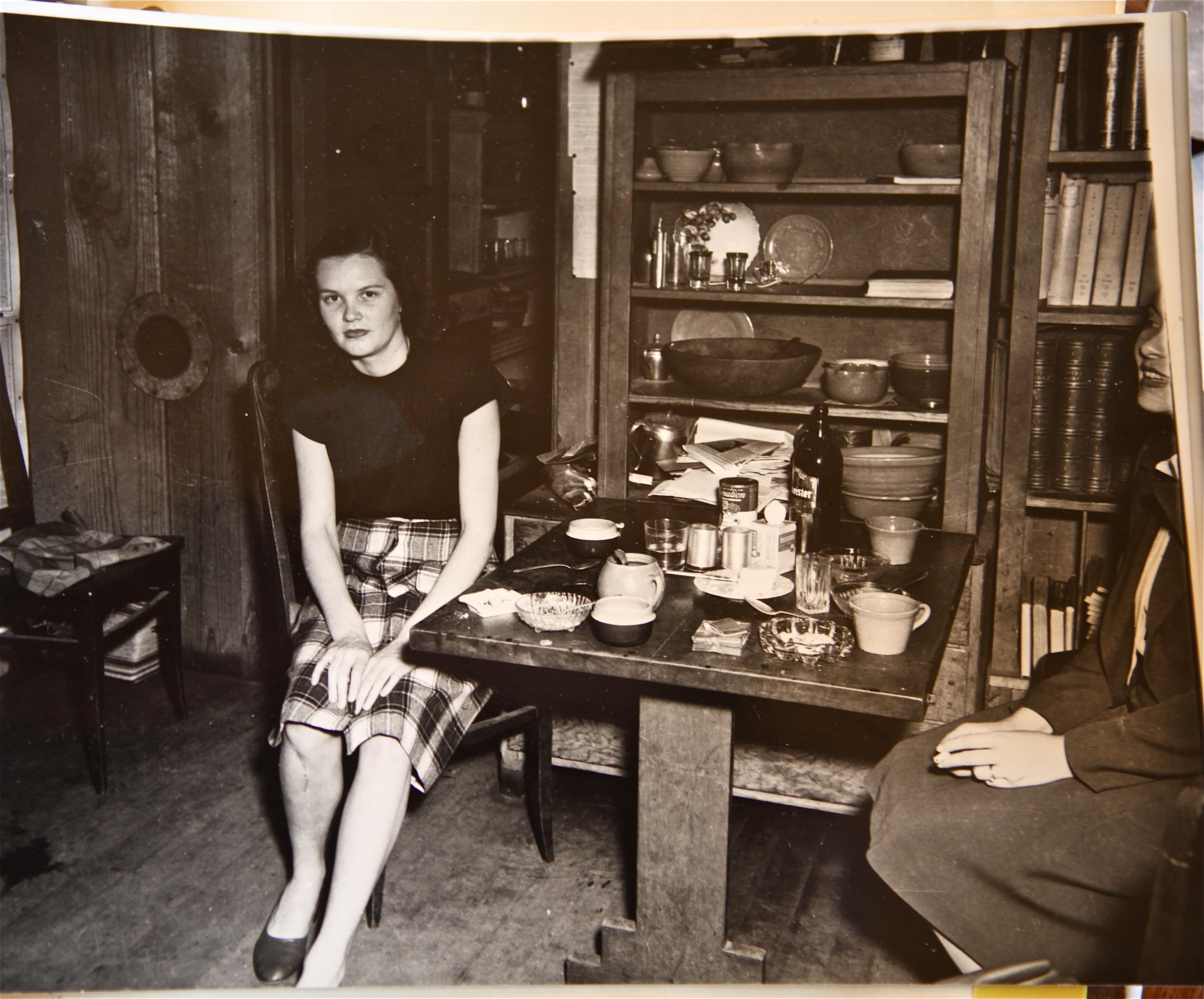 Alice at Lab 1940s