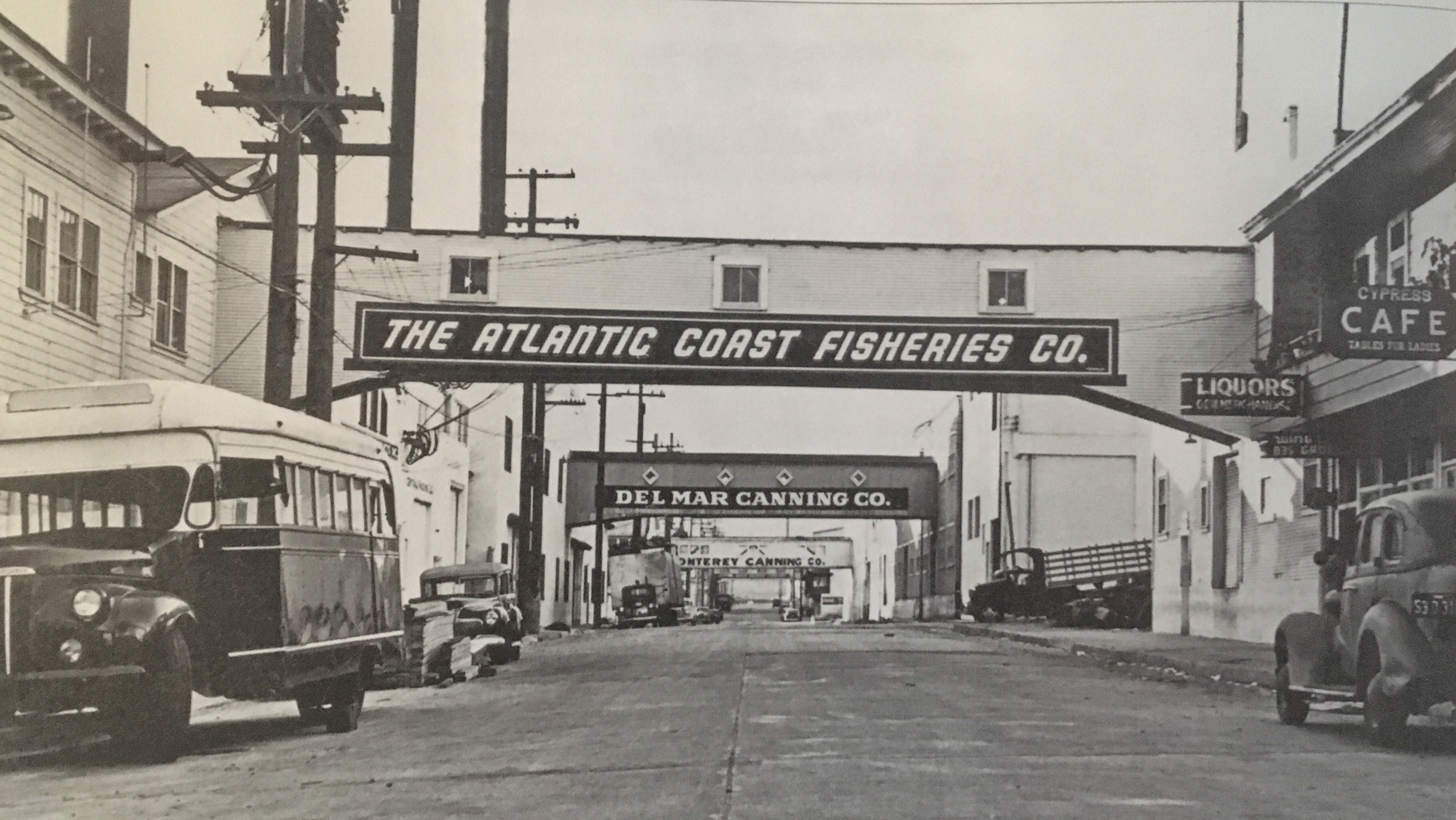 Cannery Row 1940s