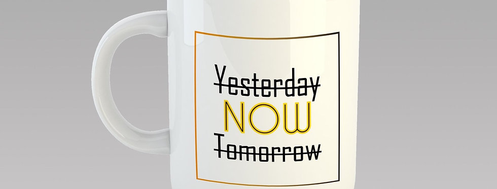 """Ly sứ """"Yesterday Now Tomorrow"""""""