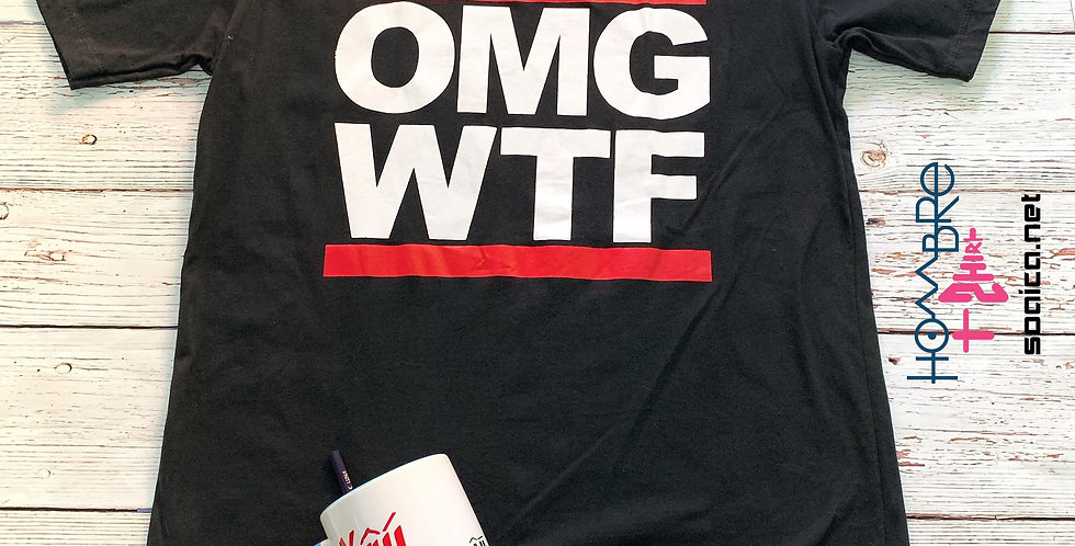 Áo thun OMG - WTF