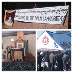 Suppported the Tibetan community
