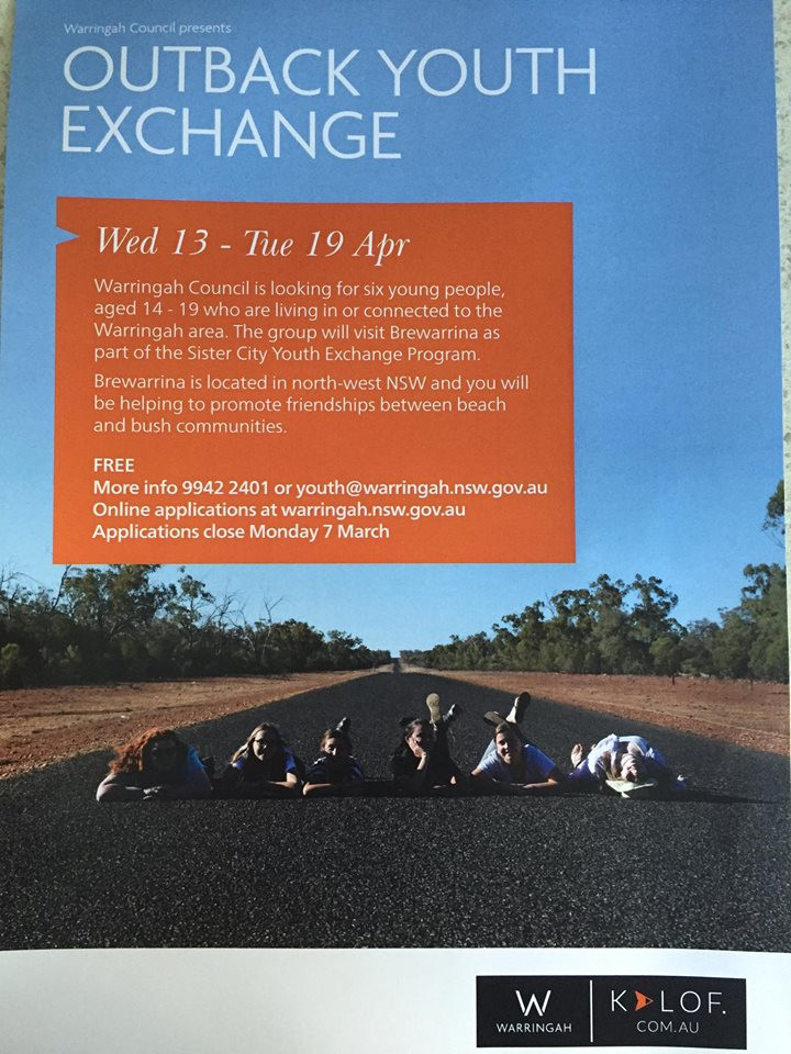 Brewarrina Youth Exchange with our sister city