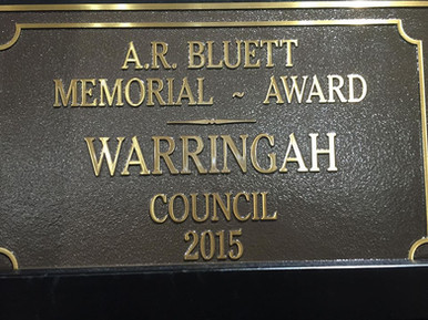 Bluett Award Winner