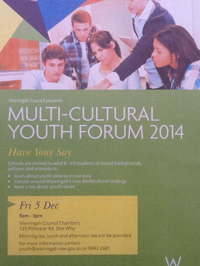Engaging our multi-cultural youth in our community