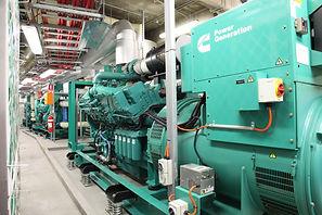 Дизельная электростанция с двигателем Cummins