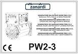 Инструкция по эксплуатации Zanardi PW2-3