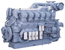 Промышленный дизельный двигатель Mitsubishi S12R запчасти