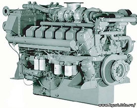 Морской дизельный двигатель Mitsubishi