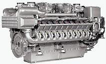 Дизельный промышленный двигатель MTU 8V4000, 12V4000, 16V4000, 20V4000