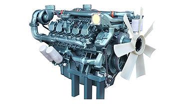 Дизельный двигатель для электростанции Doosan DP180LB купить