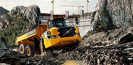 Шарнирно-сочленненый самосвал Volvo Construction Equipment