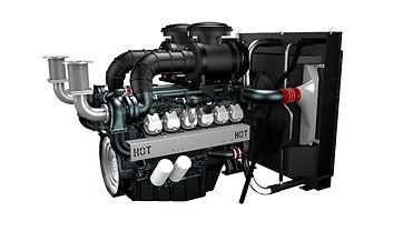 Дизельный двигатель для электростанции Doosan DP222LB купить