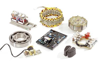 Запасные части к генераторам переменного тока