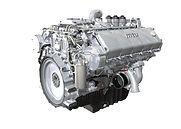 Дизельный двигатель MTU series 1300