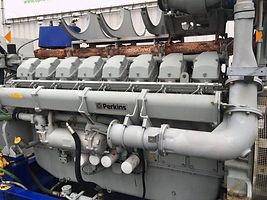Дизельная электростанция с двигателем Perkins