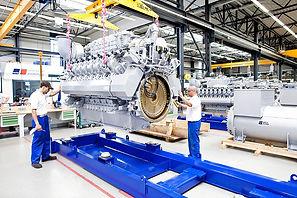 Дизельная электростанция с двигателем MTU