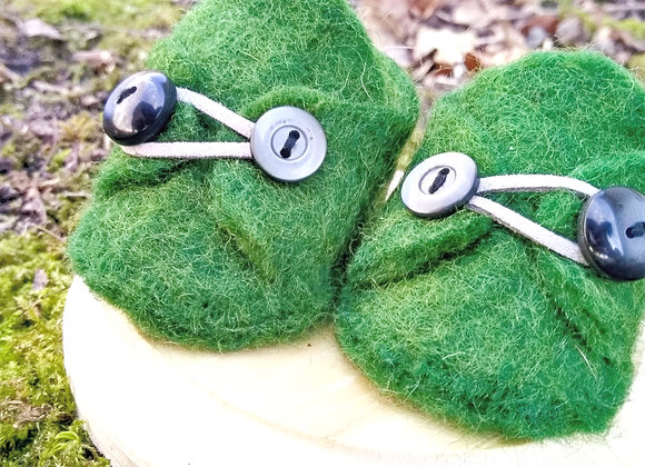 Felted Waldorf Doll Shoes