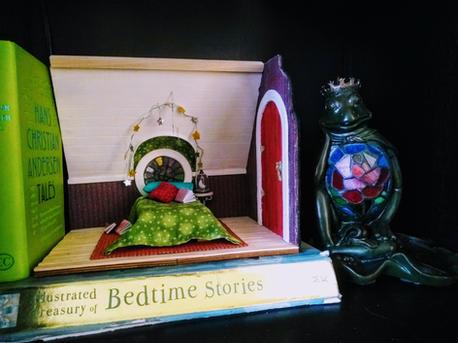 Little Room in the Attic on shelf