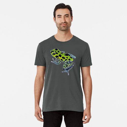 Green Poison Dart Frog Premium T-Shirt