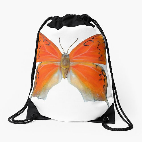 Florida Leafwing Butterfly Drawstring Bag
