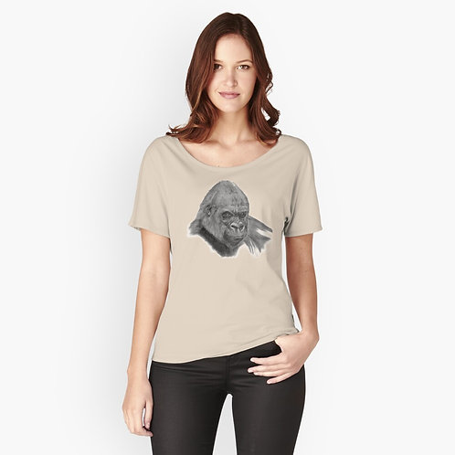 Gorilla Print Relaxed Fit T-Shirt