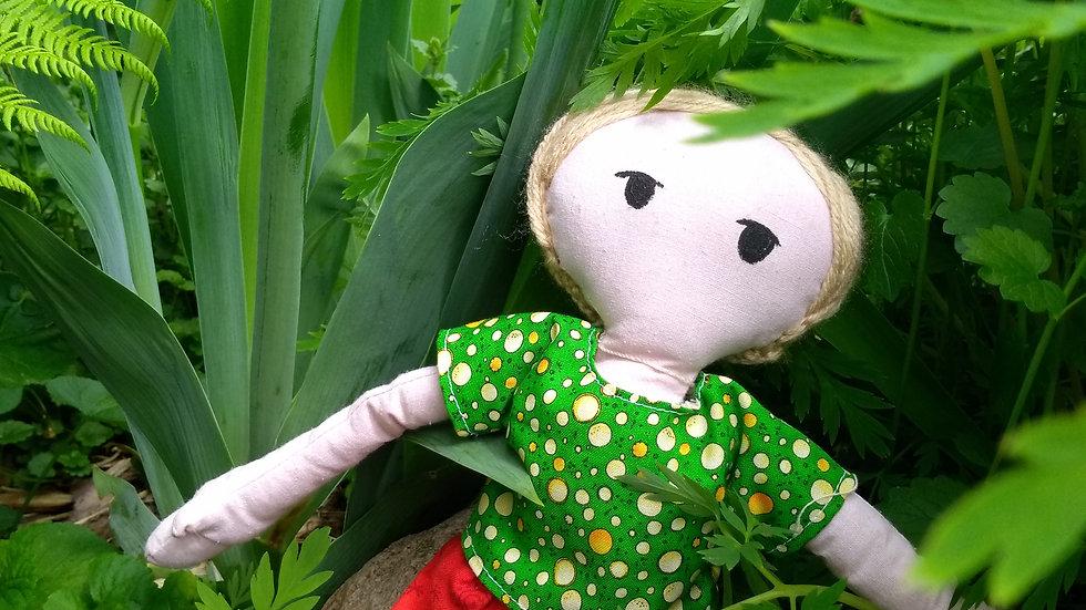 "12"" fabric garden dolls"