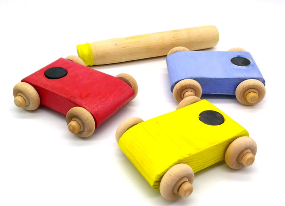 Montessori Magnet Car Racer