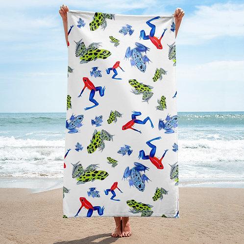 Poison Dart Frog towel