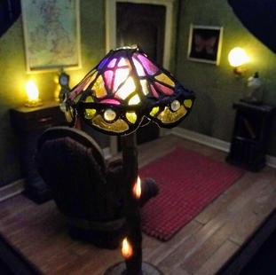 Handmade tiny lamp