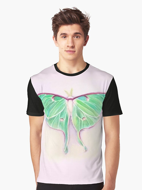 Luna Moth Graphic T-Shirt