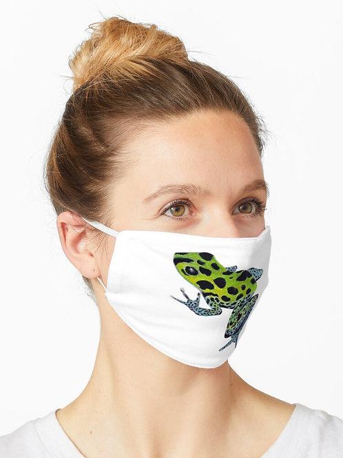 Green Poison Dart Frog Mask
