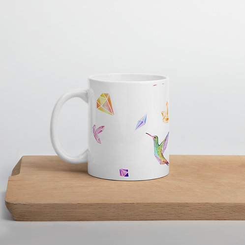 Feathered Jewels Mug
