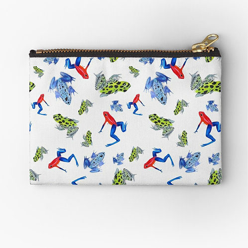 Poison Dart Frogs Zipper Pouch