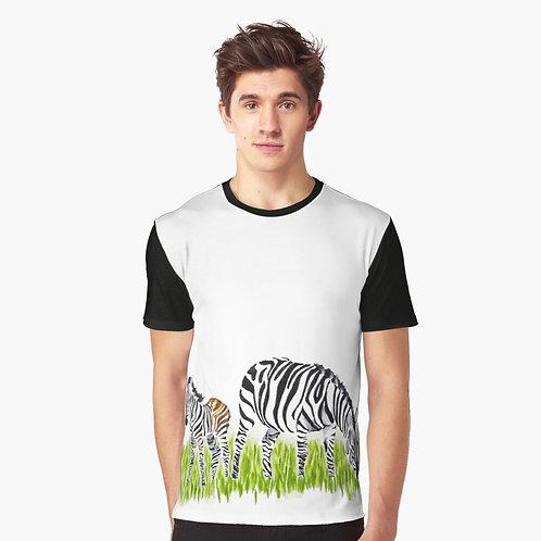 Zebra Graphic T-Shirt