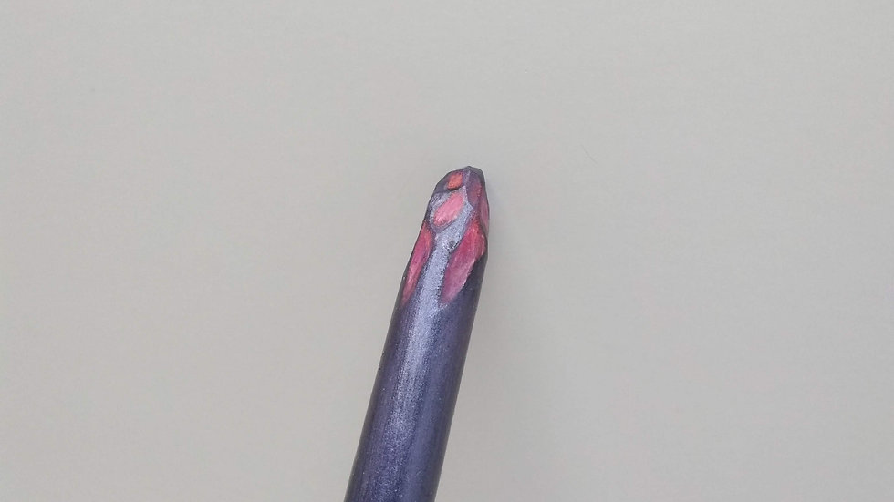 Purple Wand with Pink Detailing