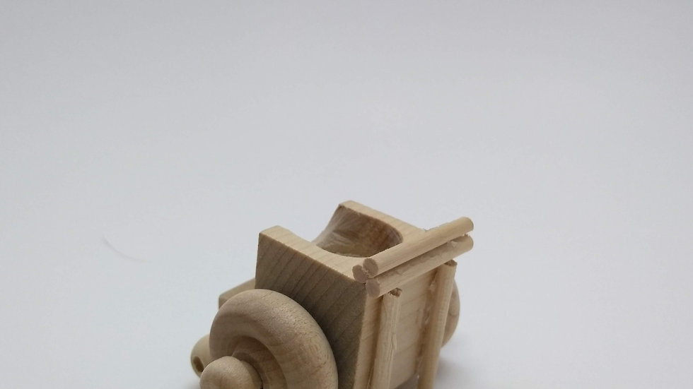 Wooden Wheely Chair for Peg Dolls