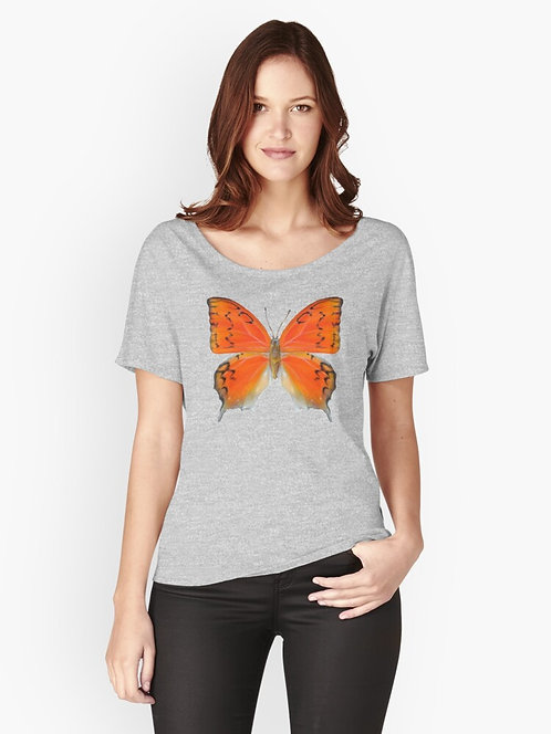 Florida Leafwing Butterfly Relaxed Fit T-Shirt