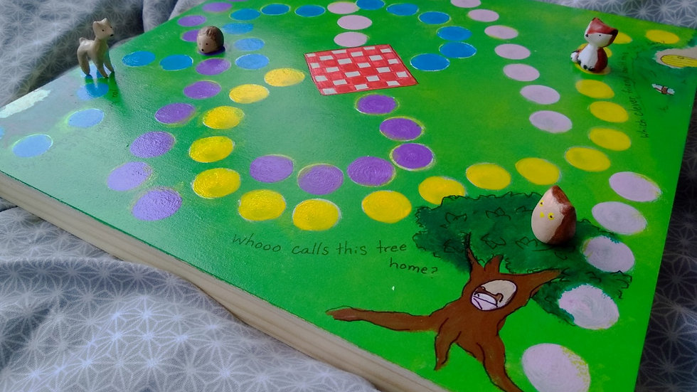 Spring Picnic, Cooperative Board Game