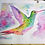 "Thumbnail: 12x16"" Premium Art Print Rufous-Tailed Hummingbird"