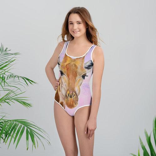 Giraffe Youth Swimsuit