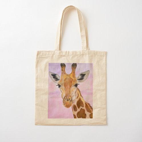 Giraffe Cotton Tote