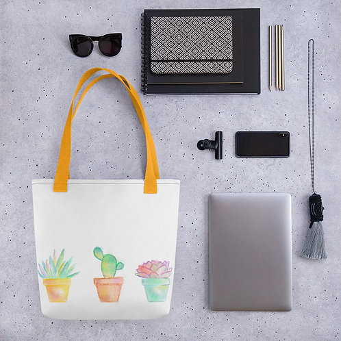 Succulents Tote bag