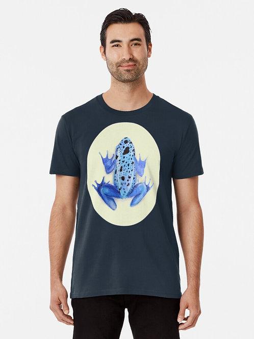 Blue Poison Dart Frog Premium T-Shirt