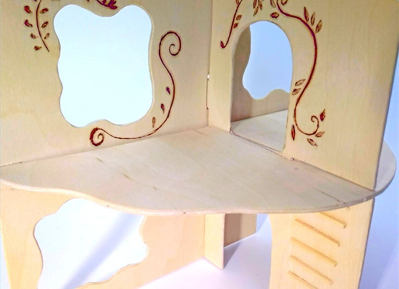 Three Piece Collapsible Doll House