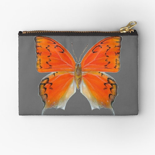 Florida Leafwing Butterfly Zipper Pouch
